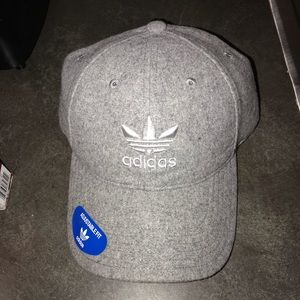Adidas adjustable fit unisex hat, one size
